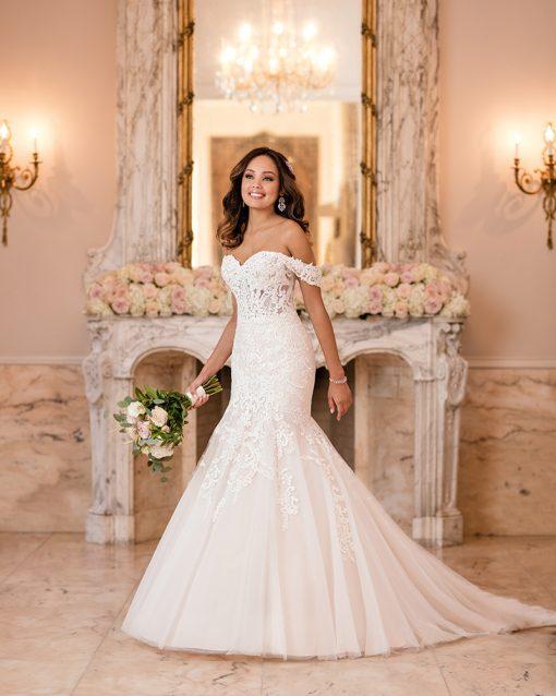 Stella York Mermaid Wedding Dress