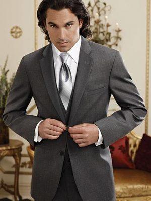 gray suit j