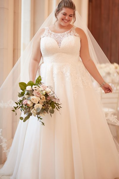 Plus Size Wedding Dress A-line