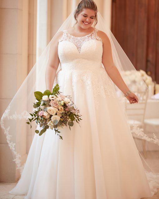 Plus Size Wedding Dress A-line