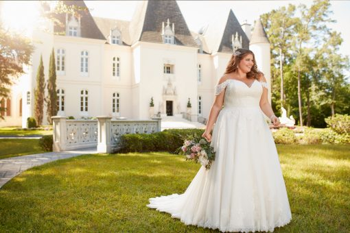 Plus size wedding Dress - Stella
