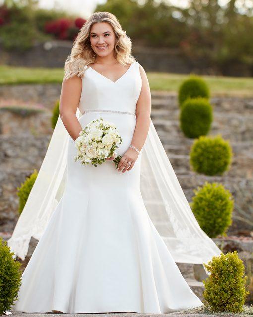Essense of Australia Plus Size Wedding