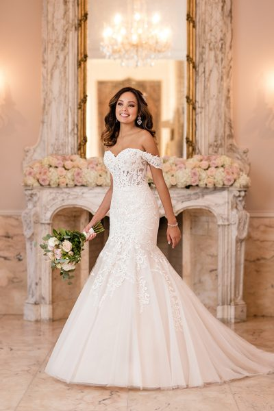 Stella York Mermaid Wedding Dress