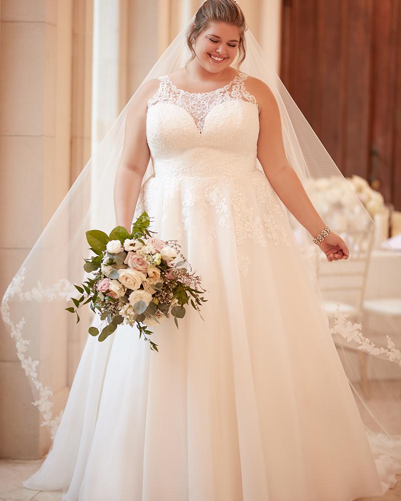 Wedding Gowns In New York: Stella York Plus Size- Wedding Gowns