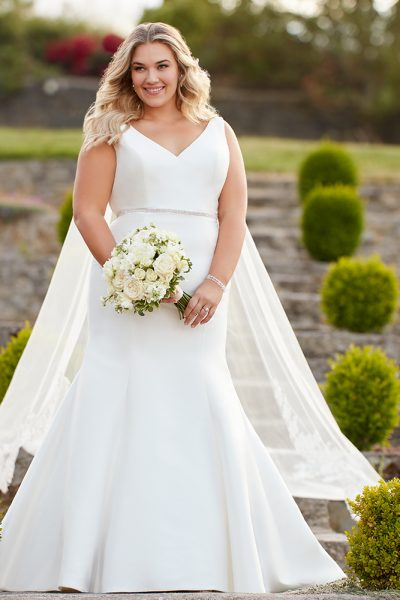 Essense of Australia Plus Size Wedding