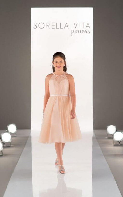 Jr Bridesmaid Dress- J4006