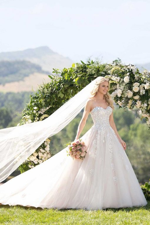 Martina Liana Ball Gown Wedding Dress